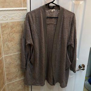 Urban Outfitters Taupe Cardigan w/ Two Pockets